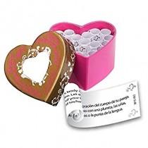 Coração com papelinhos