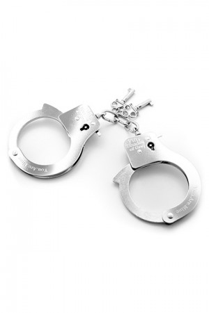METAL HANDCUFFS BY FIFTY SHADES OF GREY