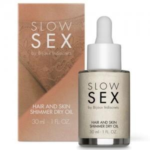 Óleo Seco Iluminador Slow Sex